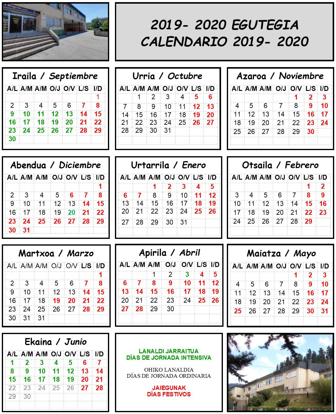 Calendario Loteria Nacional 2020.Calendario